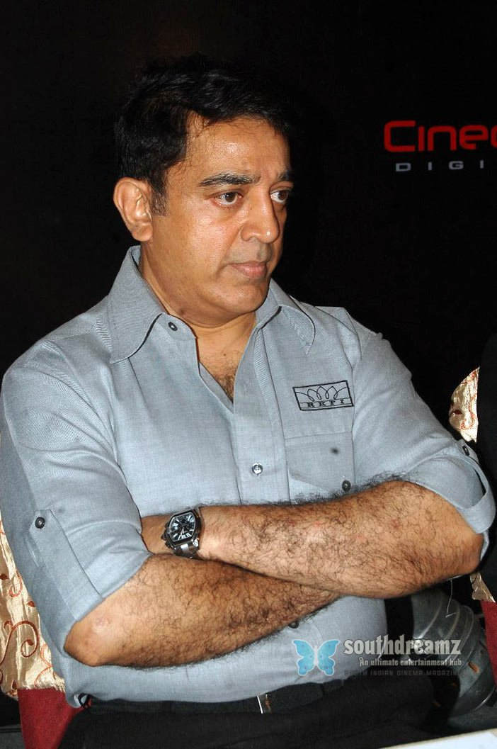 Kamal hassan at cineola digital cinemas forays in to india stills 3