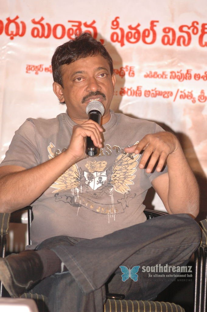 Bollywood director ram gopal varma stills 6