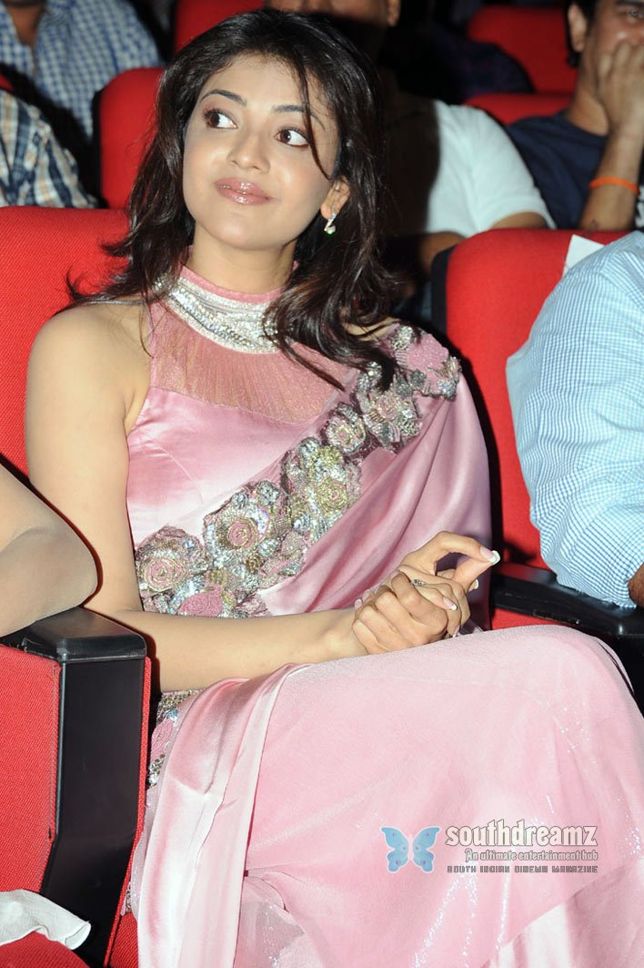South indian cute actress kajal agarwal saree stills 31