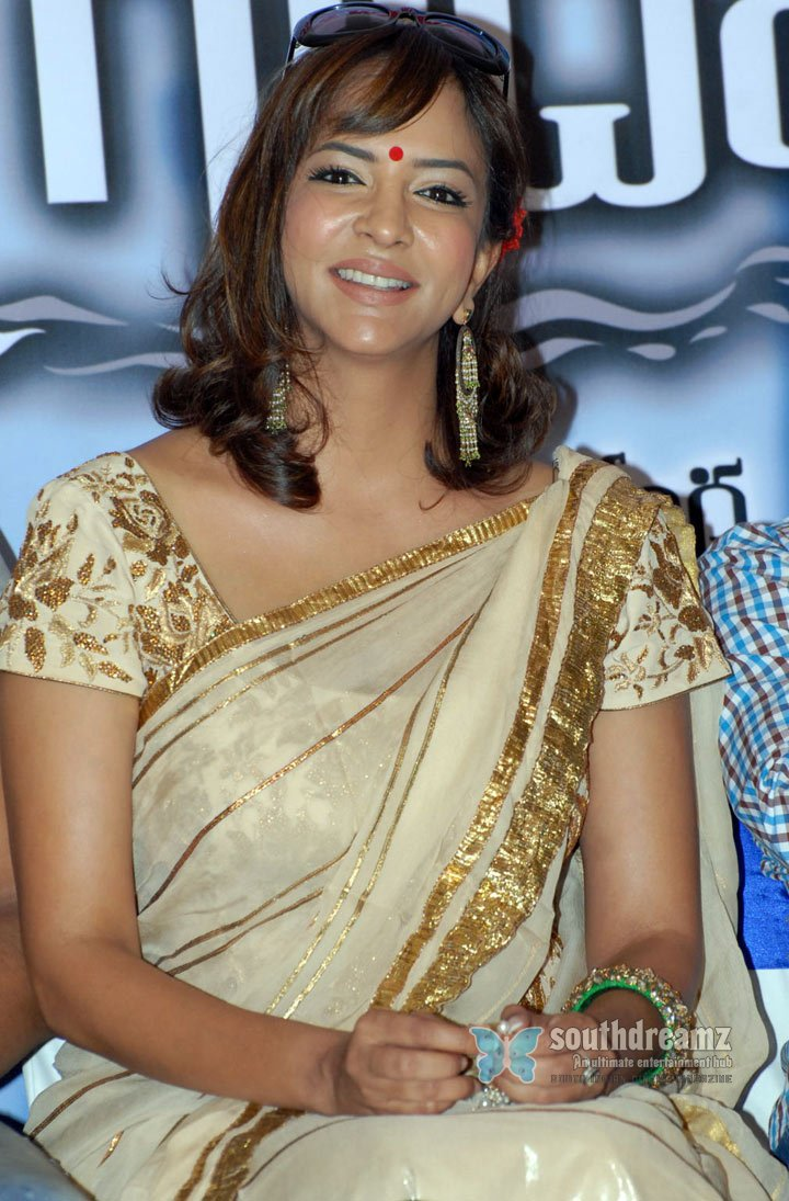 Hot photo shoot of manchu lakshmi finest indian traditional clothing and designer wear to showcase style 33