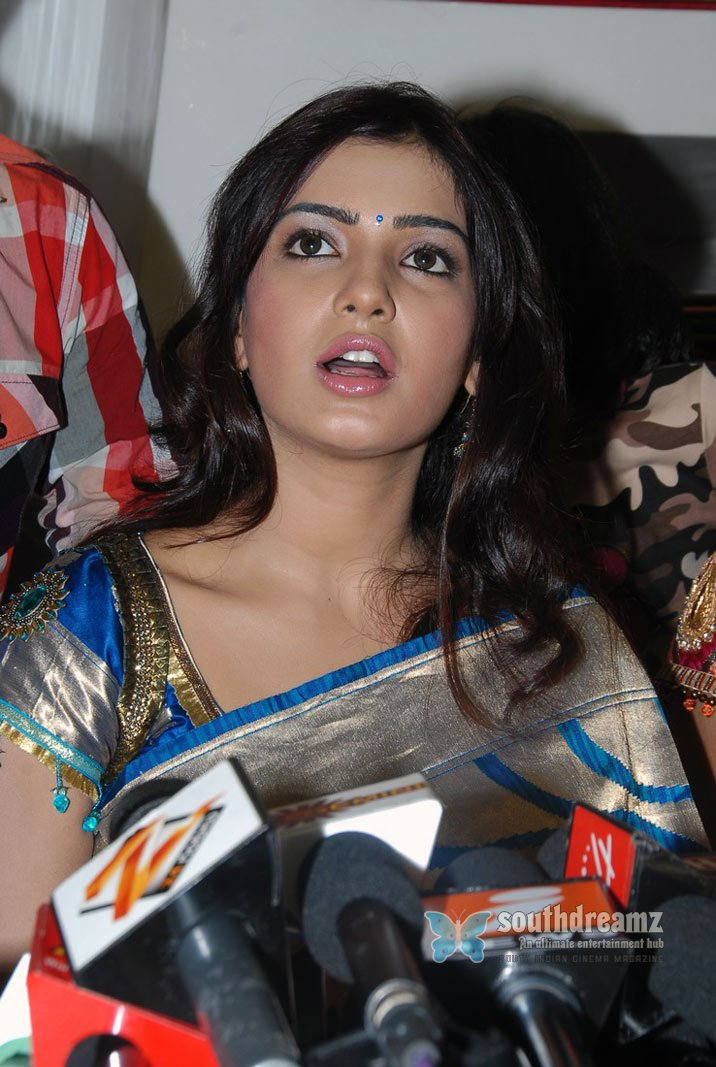 Telugu glamour actress samantha spicy stills 171