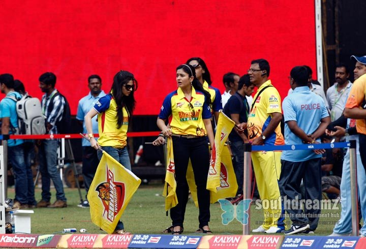 Stars at ccl3 chennai rhinos vs bhojpuri dabanggs photos 33