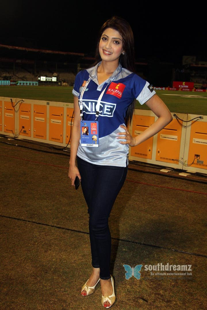 Stars at ccl3 chennai rhinos vs karnataka bulldozers match photos 19