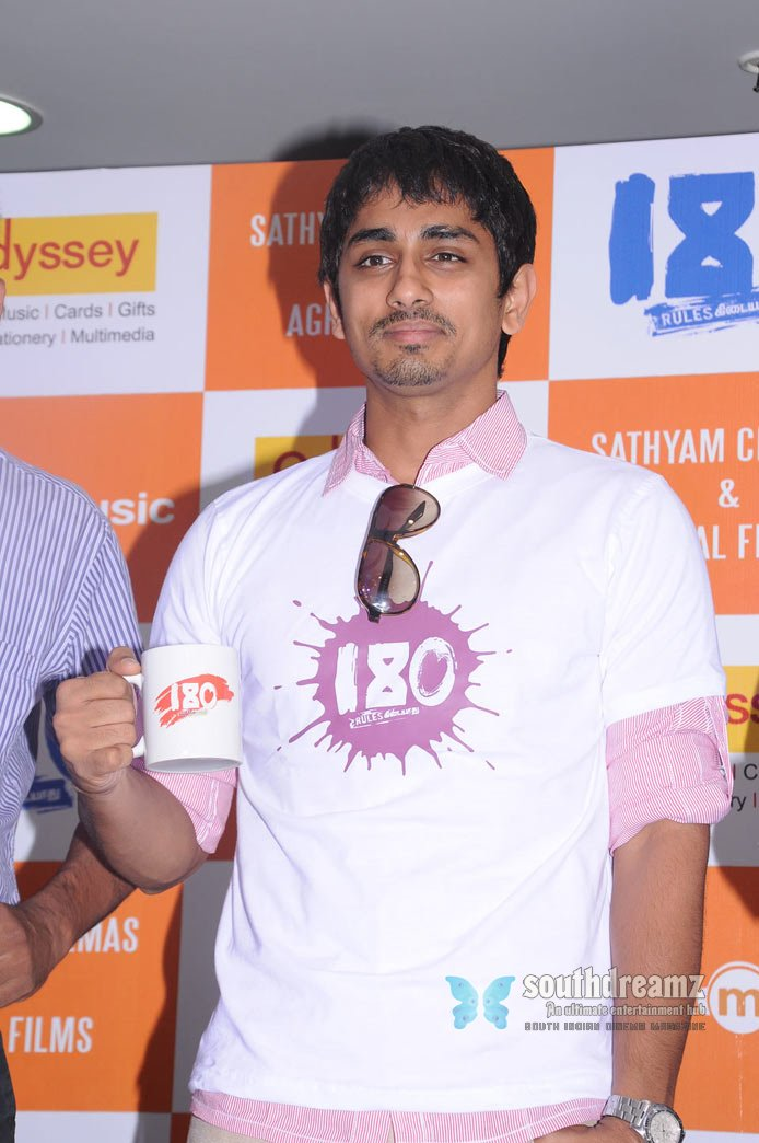 Download siddharth promotes 180 movie stills 44
