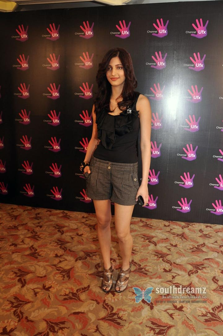 Browse shruti hassan ufx channel launch photo gallery89