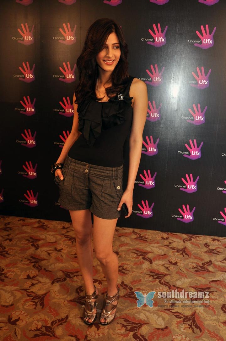 Browse shruti hassan ufx channel launch photo gallery96