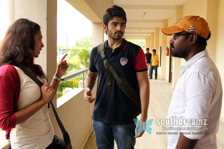 Vazhapazham movie working stills 3