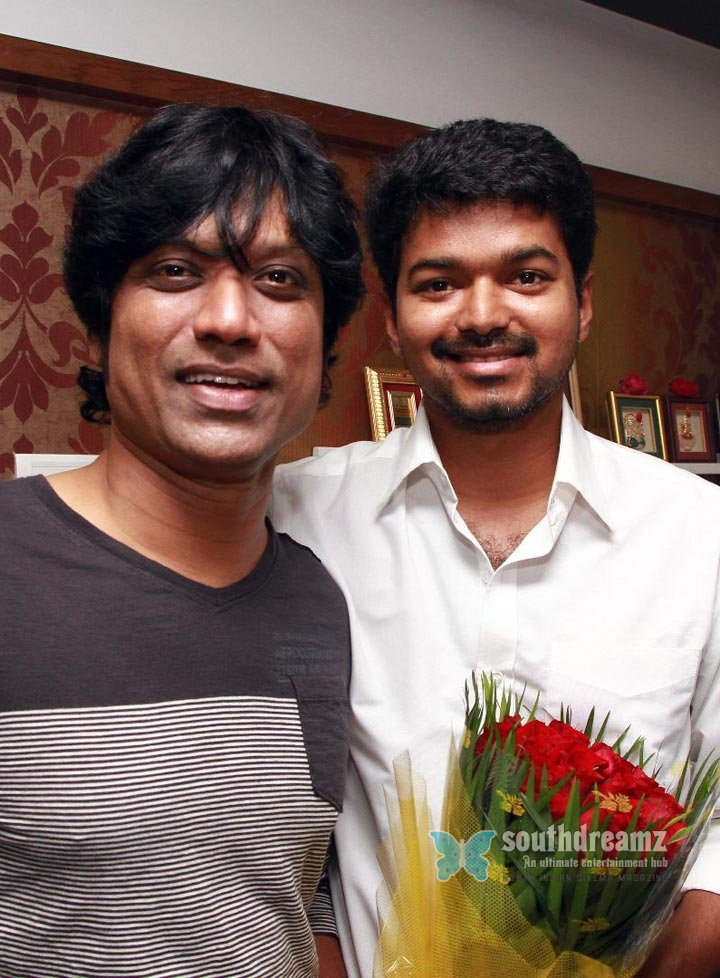Vijay and vijay new film pooja stills 8