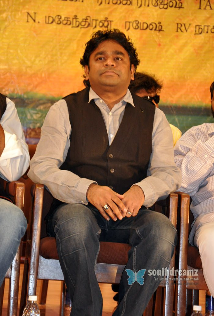 Music director ar rahman at aravaan audio launch stills 6